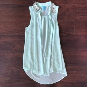 Mint blouse top/dress